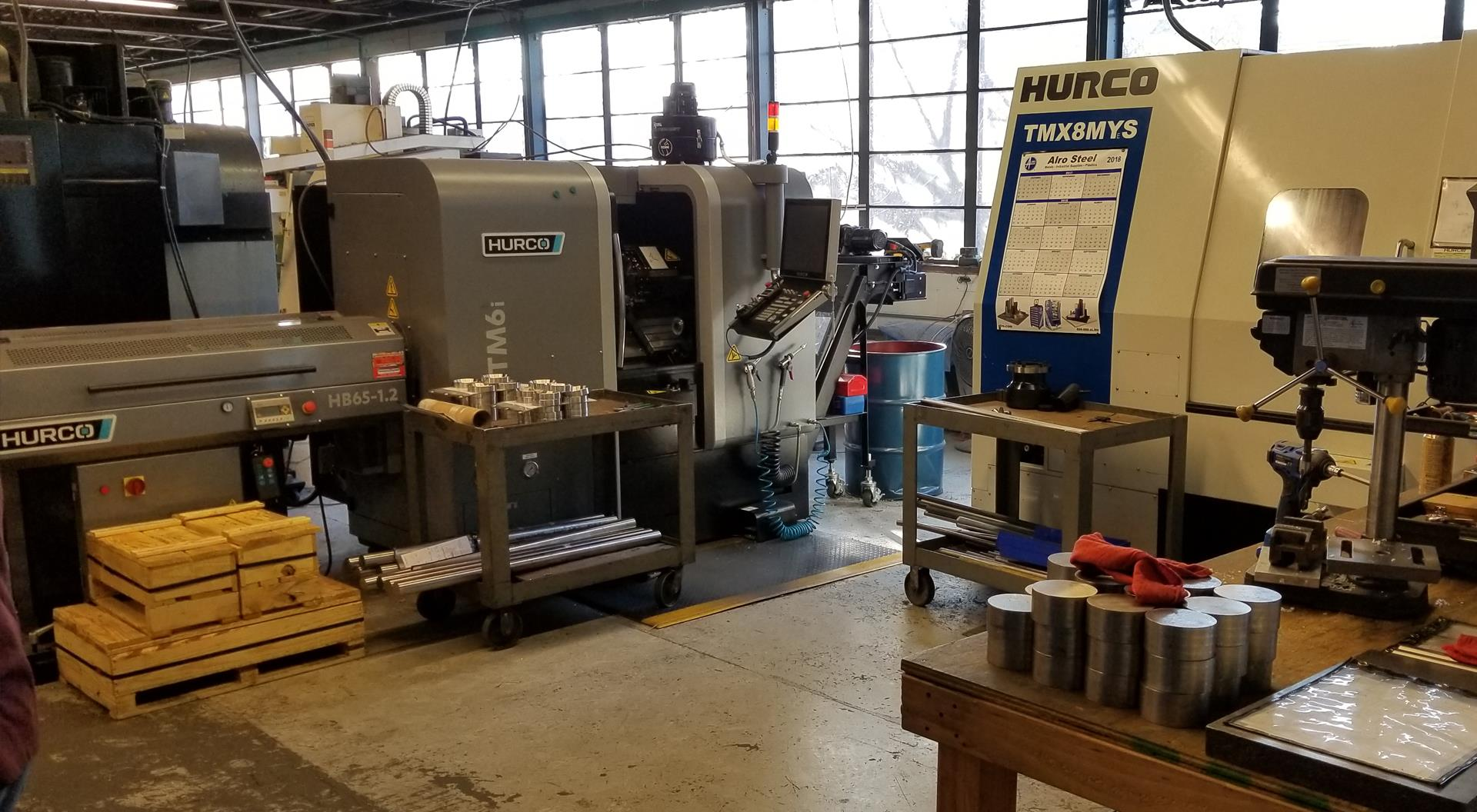 hurco CNC machinists | KLT Group Inc.