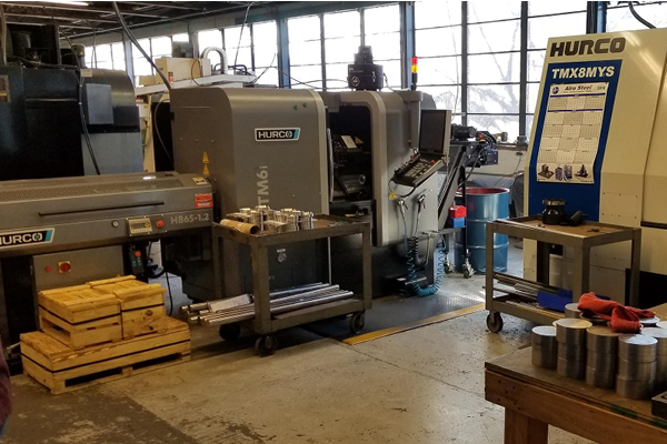 metal machining shop | KLT Group Inc.